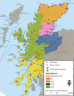 NHS Highland Areas