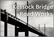 Kessock Bridge Road Works